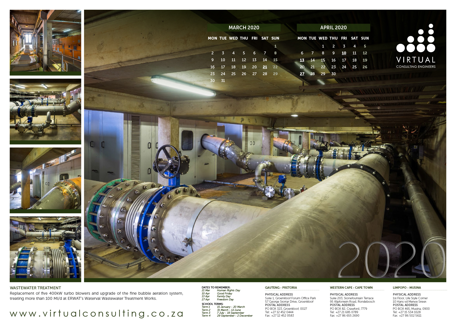 VCE Calendar 2020
